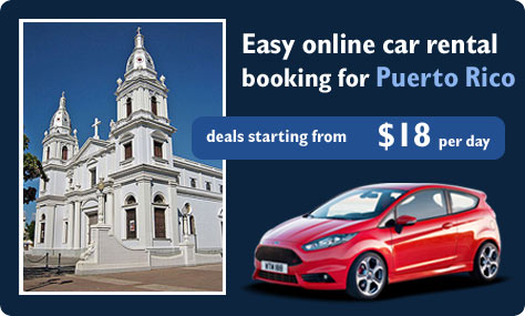 Easy online car rental booking for Puerto Rico